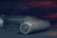 empty bullets scattered